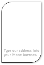 Type our address into